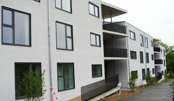 Vue residence grandes guenandes