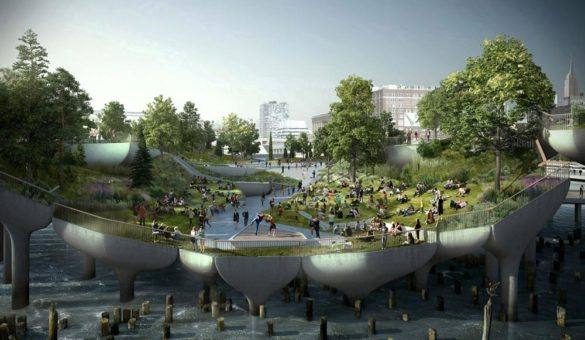 The-Little-Island-Blossoming-Greenways-Designed-by-Heatherwick-Studio-