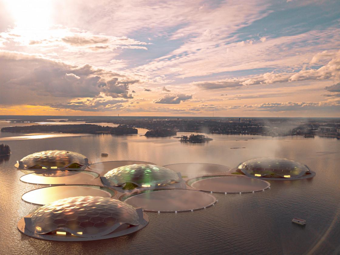 A Helsinki, Carlo Ratti va créer des îles flottantes pour stocker l'énergie | Architectes Genève et Vaud | 2dlc